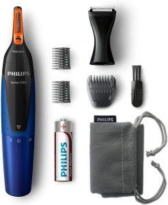 El cortapelos de nariz y orejas más potente - NT5175/16 de Philips