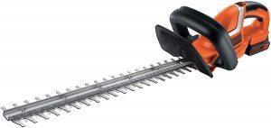 El cortasetos más seguro - GTC1845L20-QW de Black Decker