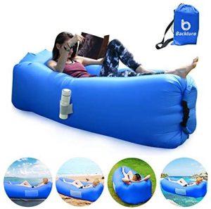 BACKTURE. El mejor sofá cama individual inflable