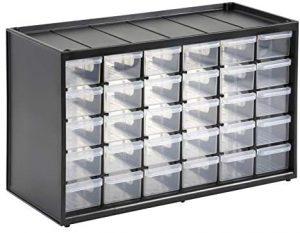 Caja de almacenamiento para piezas pequeñas Stanley