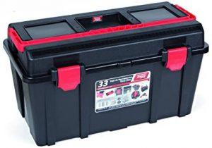 Caja de herramientas económica Tayg 133008. La más resistente
