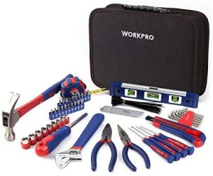 Caja de herramientas económica Workpro. Ideal para principiantes