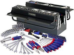 Caja de herramientas metálica WORKPRO W009038A