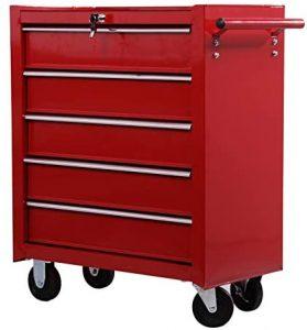 Caja de herramientas taller Homcom E2-0004