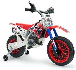INJUSA. Moto Cross a Batería de 6V