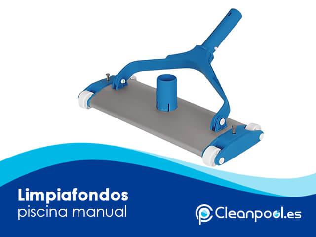 Limpiafondos piscina manual