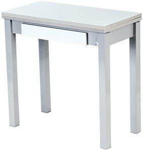 Mesa de cocina de cristal