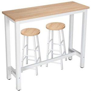 Mesa de madera bar