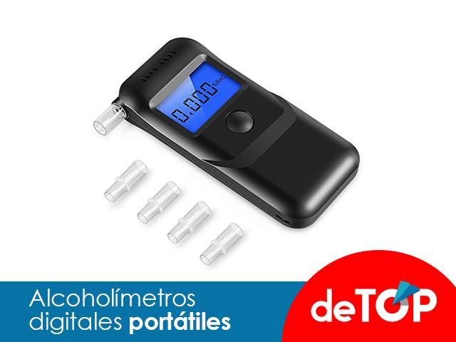Los mejores alcoholímetros digitales portátiles