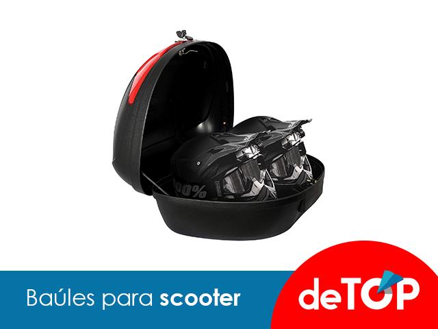 Los mejores baúles para Scooter