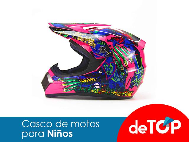 Los mejores cascos de motos para niños