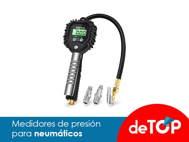 Los mejores medidores de presión para neumáticos de precisión