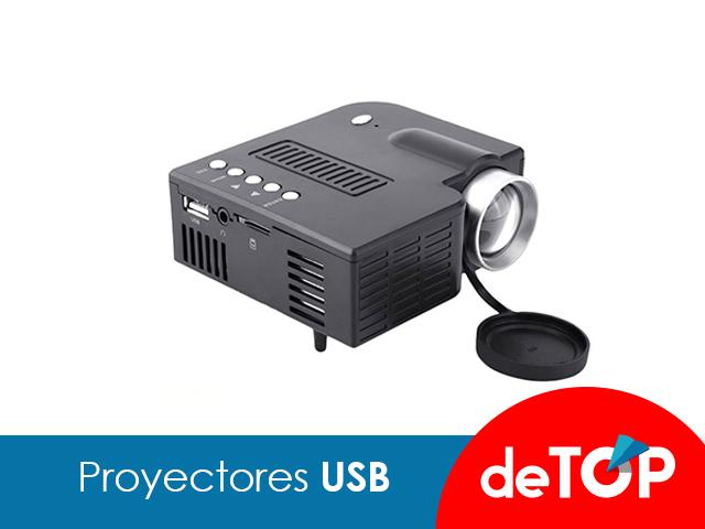 Los mejores proyectores USB