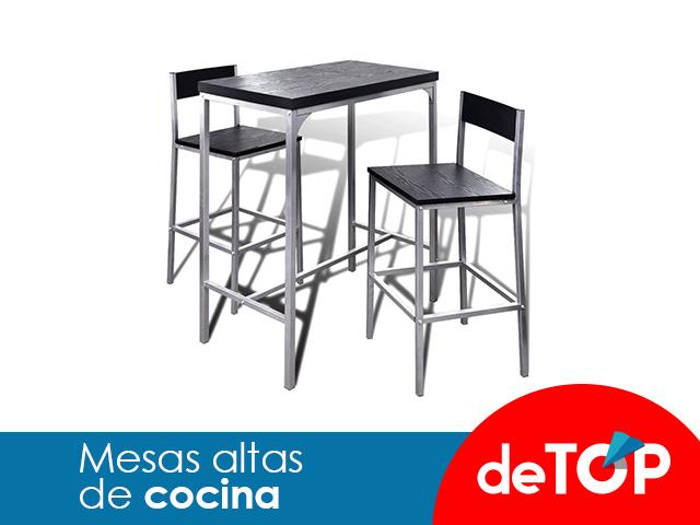 Las mejores mesas altas de cocina