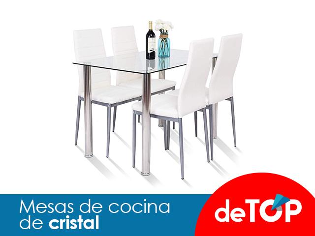 Las mejores mesas de cocina de cristal