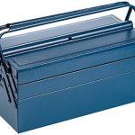 Caja de herramientas metálica Mannesman 211 – 430. Mayor espacio