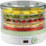 Deshidratador de frutas con temperatura ajustable de BEPER