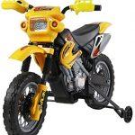 HOMCOM. Moto eléctrica Infantil. Batería recargable