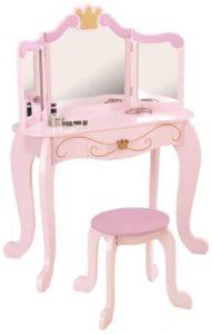Juego tocador con espejo infantil KidKraft