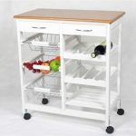 Kit Closet. Mesa auxiliar de cocina con cajones