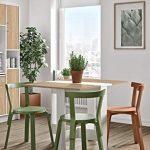 Mesa de cocina plegable de madera Symbiosis