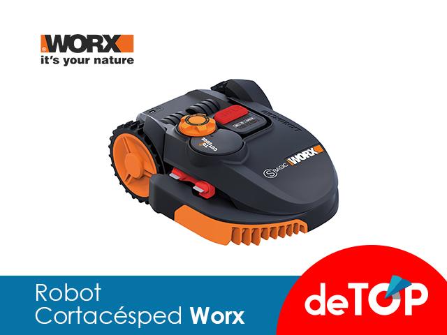 Mejores Robots Cortacésped Worx