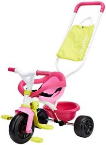 Triciclo Smoby Be Fun Confort rosa