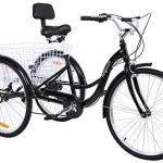 Triciclo de adultos eléctrico más rápido MuGuang