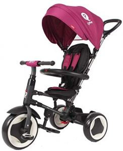 Triciclo evolutivo ideal para niñas QPlay