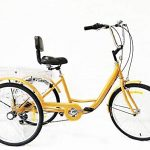 Triciclo para adultos Xian. Muy cómodo