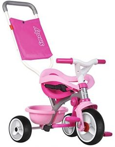 Triciclo rosa Smoby