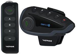 INTERCOMUNICADOR PARA CASCO DE MOTO VNETPHONE V8