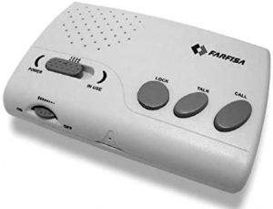 Intercomunicador inalámbrico Farfisa 1006