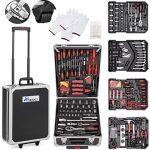 Caja de herramientas con ruedas Tresko 949